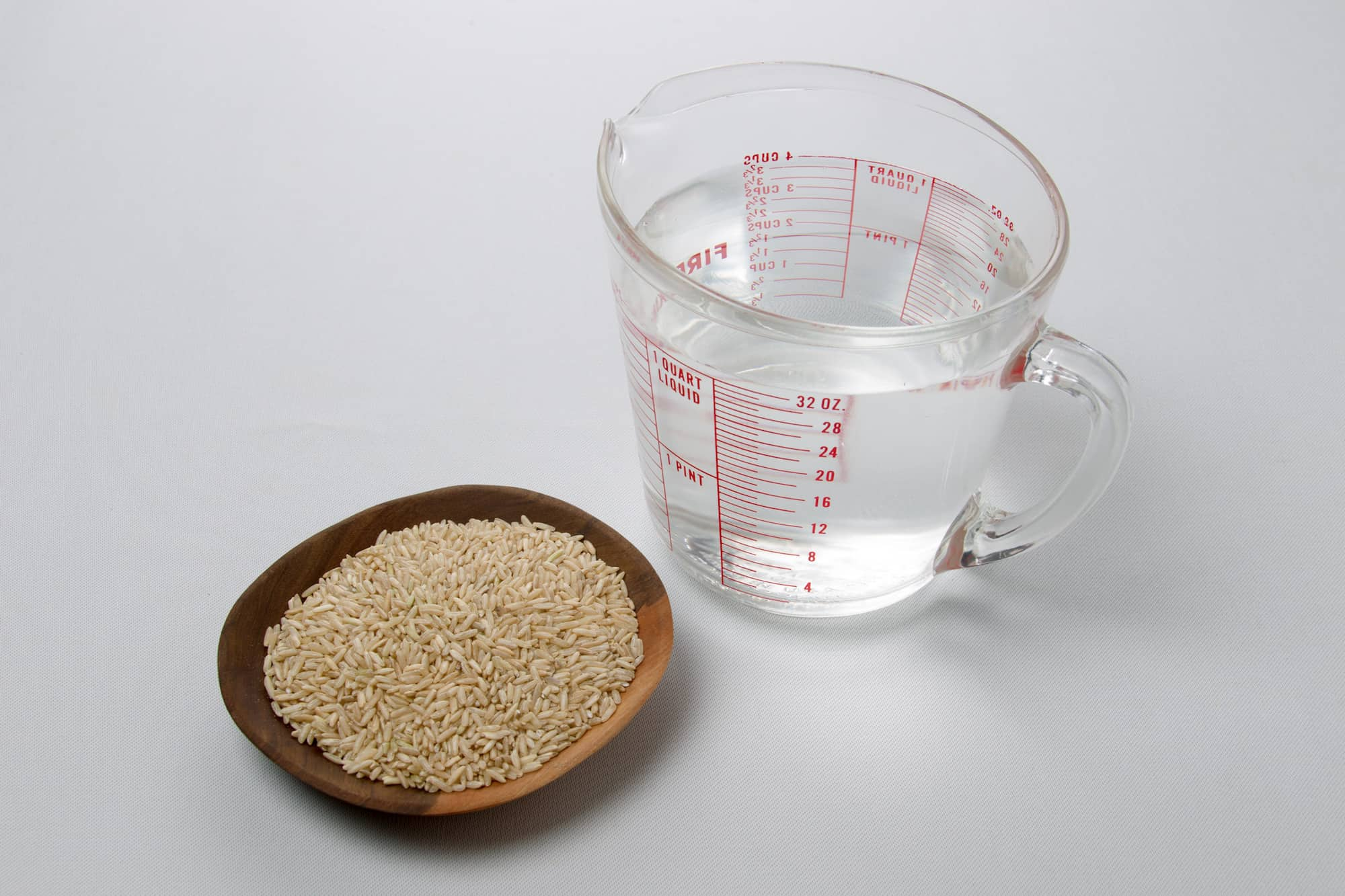 Receta de Arroz integral - ingredientes