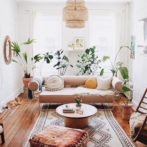 17 Ideas Para Decorar El Salón Con Plantas