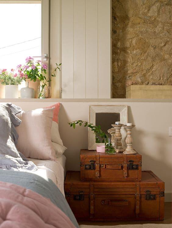 Mesitas de noche originales 17 ideas para tu dormitorio - Mesitas de noche originales ...