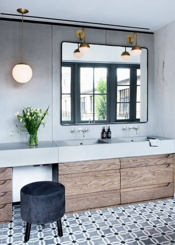 Adapt-the-light-style-with-the-bathroom